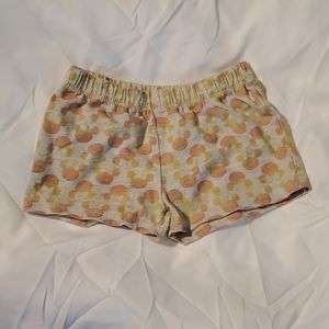 **5/$25** Disney Gold/Pink Ears Shorts Size 4T